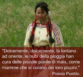 Il cibo dei Nativi Nordamericani: Donna Nativa Nord Americana (crt-01)