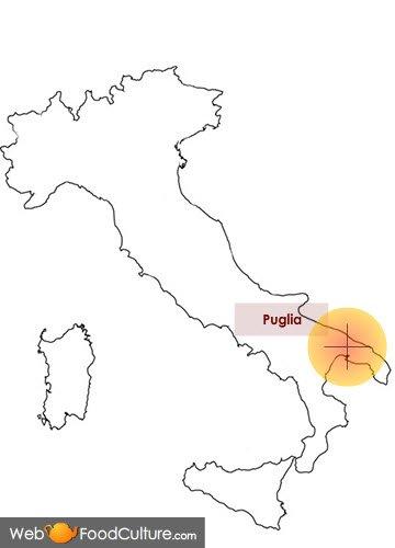 Bruschetta: Puglia.