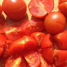 Bruschetta: Il pomodoro per la bruschetta.