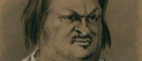 Maraschino liqueur: Caricature of Honorè De Balzac, 1850 (img-15)