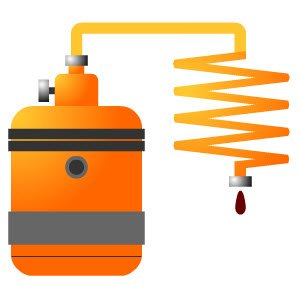 Maraschino liqueur: Discontinuous infusion process.
