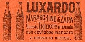 Maraschino liqueur: Maraschino Luxardo, advertising flyer (crt-01)