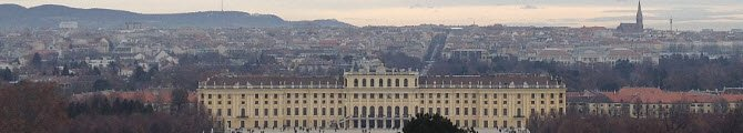 Torta Sacher: Vienna, Castello di Schönbrunn