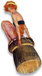 Prosecco wine: Lady riding a  champagne cork (img-03)