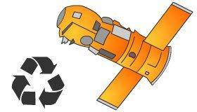 Cibo nello spazio: la 'spazzatura spaziale'.
