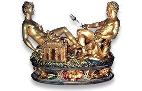 I banchetti rinascimentali di Vatel: Cellini, 'Saliera', J.Strzelecki (cc-04)