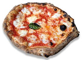 Margherita pizza: the pizza of Queens.
