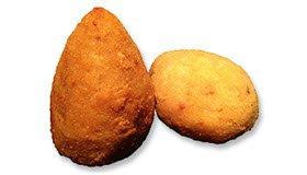 Arancini: arance di riso dalla Sicilia.