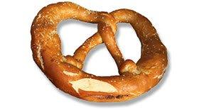Pretzel, bread of the monks.