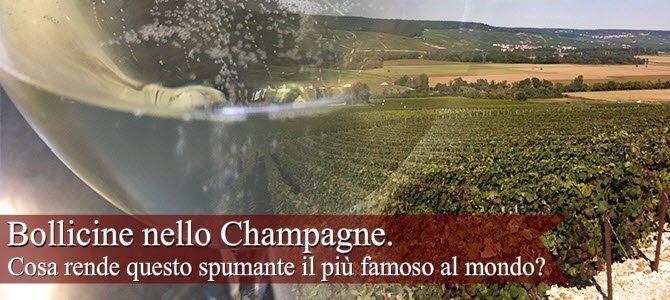 Champagne: Bollicine nello Champagne.