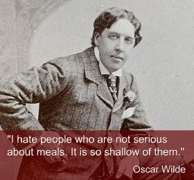 Oscar Wilde about food (img-01)