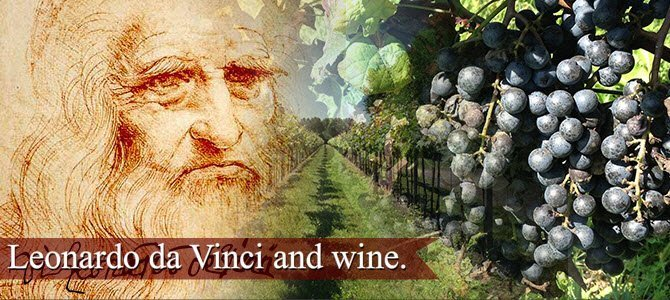 Leonardo da Vinci and wine (img-01)
