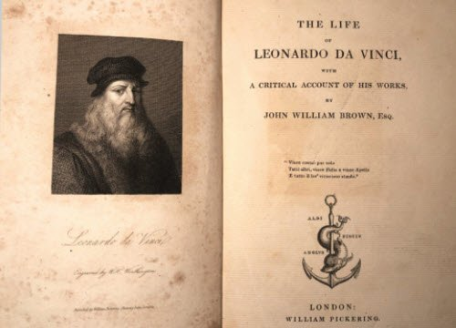 Leonardo da Vinci and wine: 'The Life of Leonardo da Vinci' (crt-01)