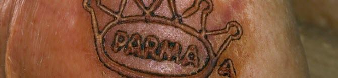 The brand of Prosciutto di Parma (crt-01)