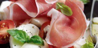 The nutritional values of Prosciutto di Parma (crt-01)