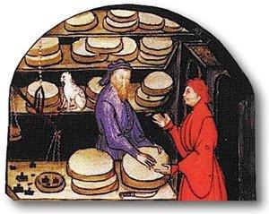 Commerciante formaggio Parmigiano (crt-01)