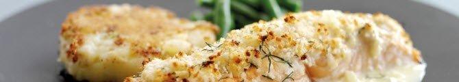 Salmone con gratinatura di Parmigiano Reggiano (crt-01)