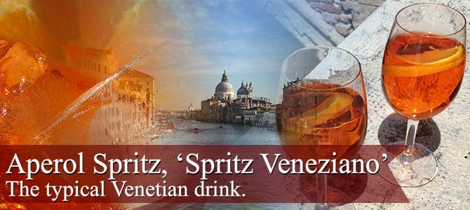 Aperol Spritz: the typical Venetian drink.