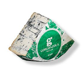 Slice of Gorgonzola cheese (crt-01)