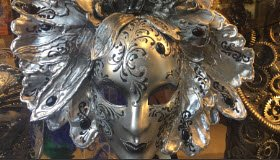 Mask of the Venetian carnival.