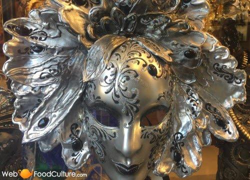 Frittelle veneziane: Maschera veneziana.