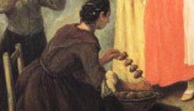 Venetian Frittelle: 'Frittelle vendor.' (img-03)