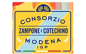 Tassello Consortile Consorzio Zampone e Cotechino Modena IGP (crt-01)