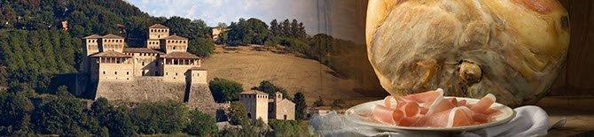 Traditional food and wine from Emilia-Romagna: Prosciutto di Parma PDO (crt-07)