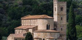 Brunello di Montalcino: Abbazia di Sant'Antimo (crt-01)