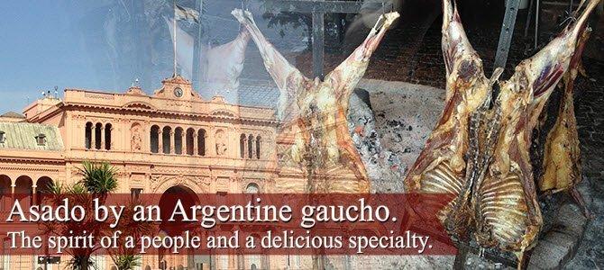 Argentinian Asado: Asado by an Argentine gaucho.