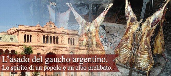 Asado: I 'gauchos' e l'asado argentino.